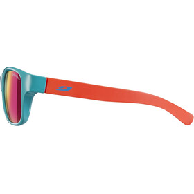 Julbo Kids 4-8Y Turn Spectron 3CF Sunglasses Shiny Turquoise/Matt Coral-Multilayer Pink